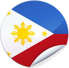 Sticker Des Philippines (détouré)