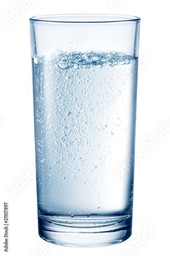 Valokuva  Glass of table-water.