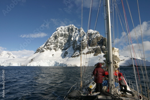 Wall Murals Arctic Sailing in Antartcica: Beautiful landscape in Antartica.