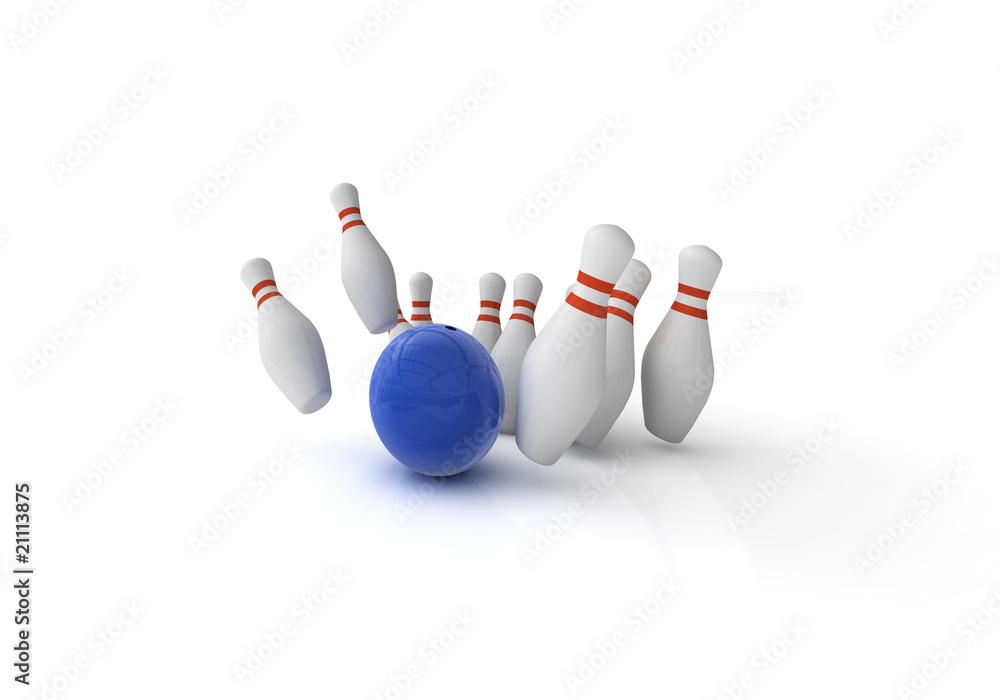 Fotografering, Billede Bowling / Kegeln på Europosters.dk