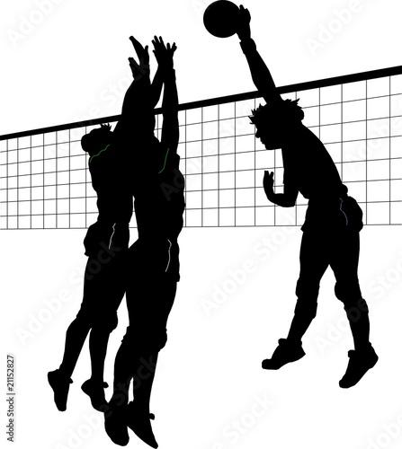 Fotografiet  volley
