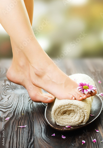 Feet Spa Canvas Print