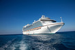 canvas print picture - Cruise Ship in Caribbean Sea