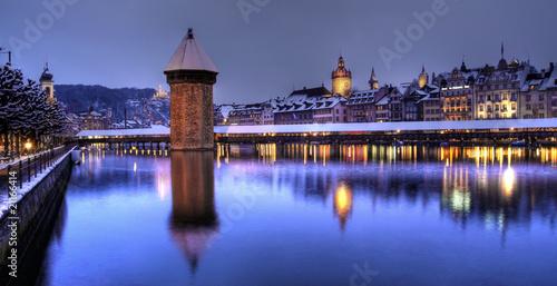 Photographie  Lucerne panoramique, Suisse