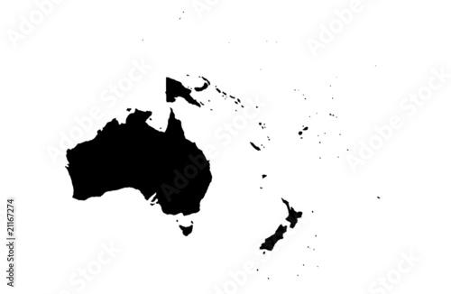 Obraz na plátně Oceania