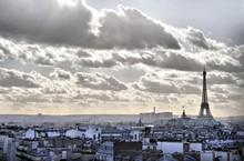 Vue Depuis Les Toits De Paris ...