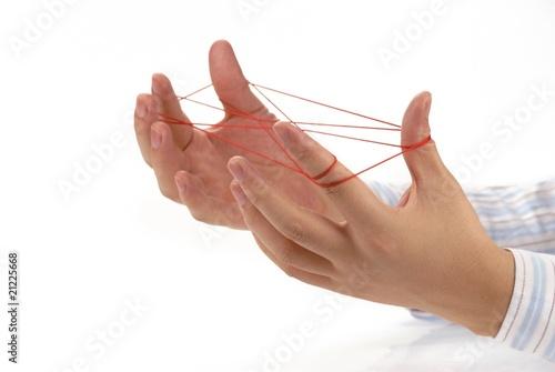 Fototapety, obrazy: Hand play