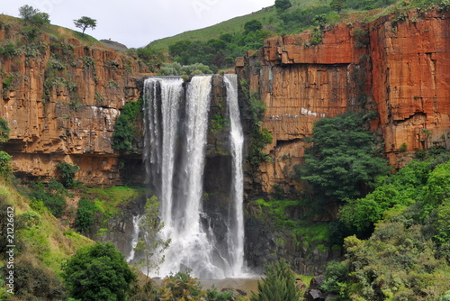 Garden Poster South Africa Waterval Boven waterfall
