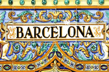 znak barcelona
