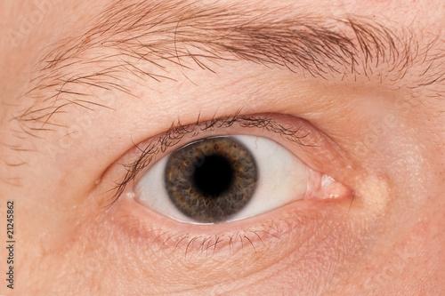 Foto op Aluminium Iris Men eye
