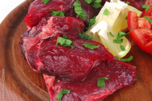 Viande small beef chunks
