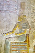 Ancient Egyptian Goddess Maat Painting