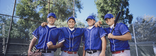 Fotografiet  baseball team