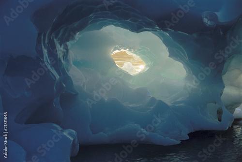 ice cave Fototapet