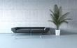 Leinwanddruck Bild - Extremely stylish minimalism interior
