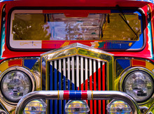 Filipino Jeepney Details With ...