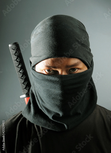 Photo  Ninja assassin portrait