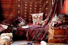 Carpet Bazaar In Cappadocia, Turkey