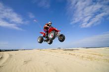 Quadbike Jumping Dunes