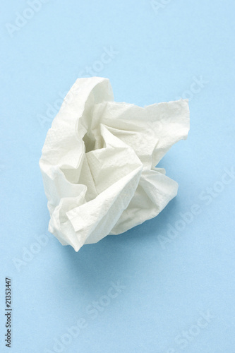 Crumpled tissue paper Fototapete