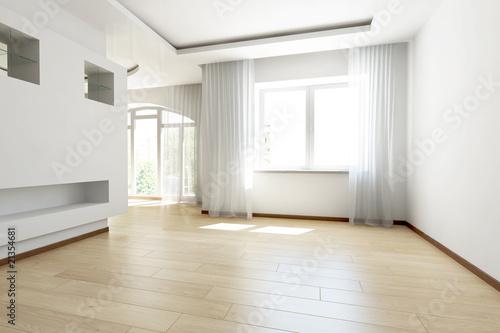 Fototapeta bright empty room obraz na płótnie