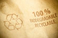 Picto Recyclable Imprimé Sur Papier Recyclé Ou Carton