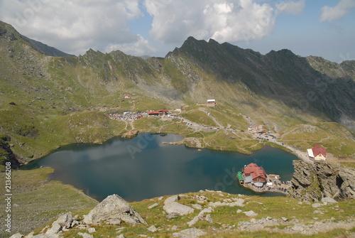 Fototapeta Rocky mountains, summer landscape obraz na płótnie