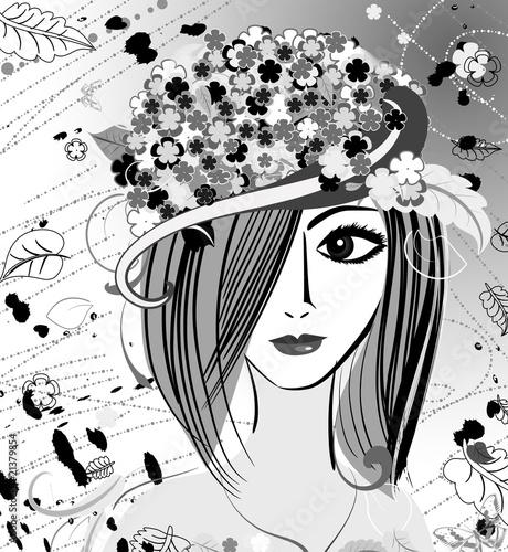 Floral femme girl Muse