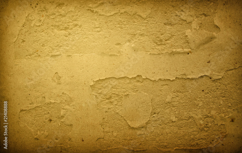 Brown grungy wall - Great textures for your design Canvas Print