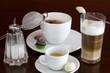 italienische Kaffeeauswahl