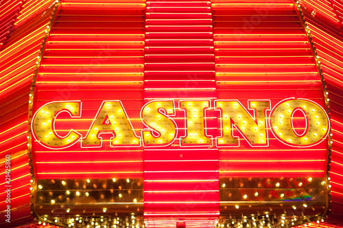 Poster Las Vegas Casino lights