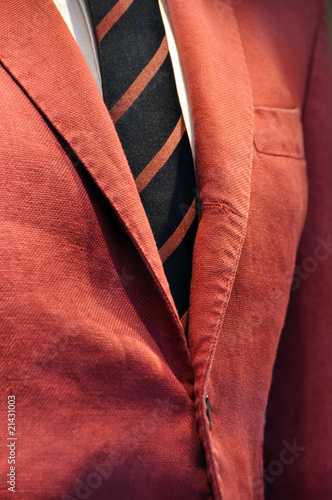 Fotomural  Jacket and tie