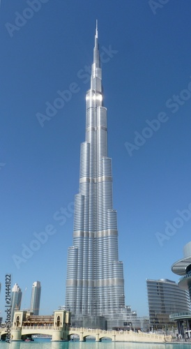 Fotobehang Dubai burj khalifa dubai