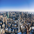 Manhattan from Empire state building - New York City - USA