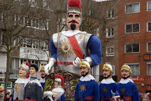 Vászonkép carnaval de Dunkerque