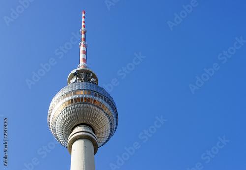 Fotografie, Obraz  Fernsehturm Berlin - Germany - Television Tower