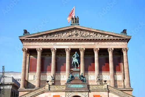 berlin alte nationalgalerie Poster