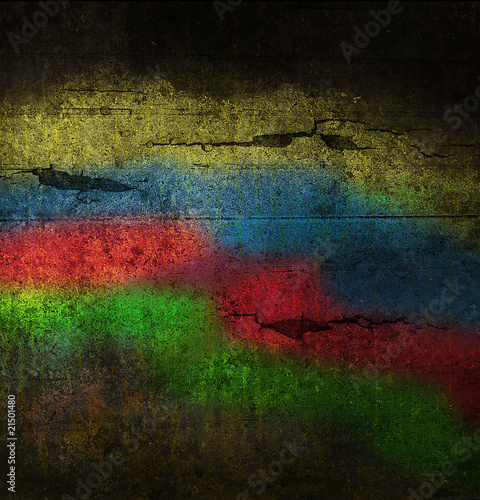 Fototapety, obrazy: abstract multicolor grunge background