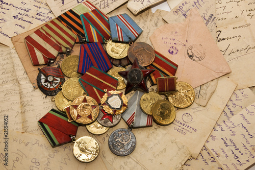 Fotografia  medals and letters