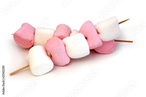 Keuken foto achterwand Snoepjes Chamallow