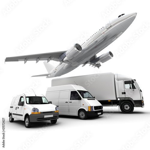 Fotografie, Obraz  Transportation fleet