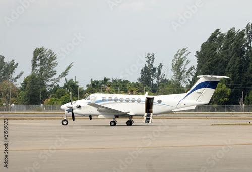 Fotografie, Obraz  Turboprop airplane