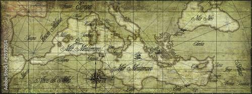 Alte Karte @p(AS)ob