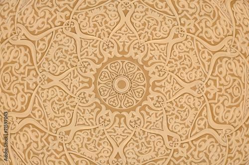 Poster Moyen-Orient Oriental decoration background