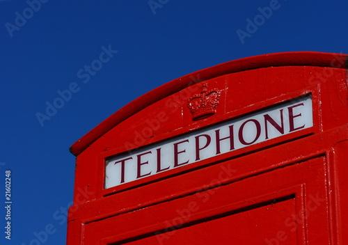 Marlow Phonebox Wallpaper Mural