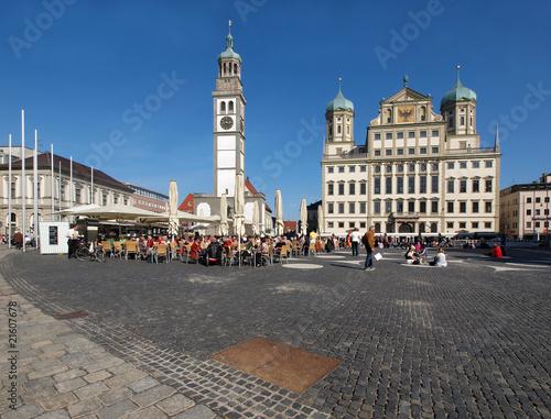 Photo Augsburger Rathaus