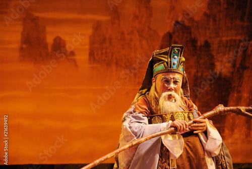 Fotografie, Obraz  china opera The God of land