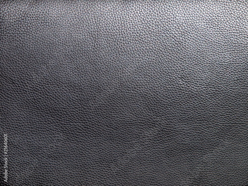Foto op Aluminium Leder schwarzes Leder