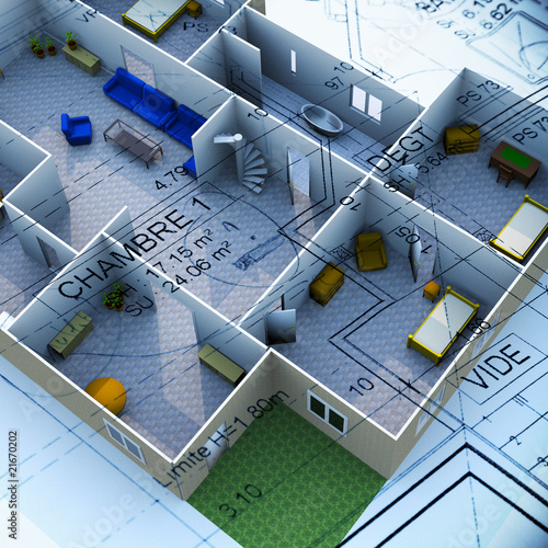 Plan Maison 3d Buy This Stock Photo And Explore Similar Images At Adobe Stock Adobe Stock