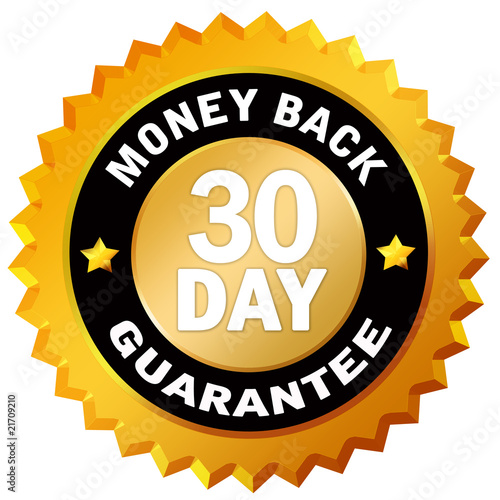 Fotografia  30 day money back guarantee